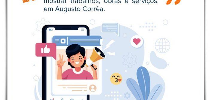 Estamos on-line outra vez! Já estávamos com saudades de mostrar trabalhos, obras e serviços em Augusto Corrêa